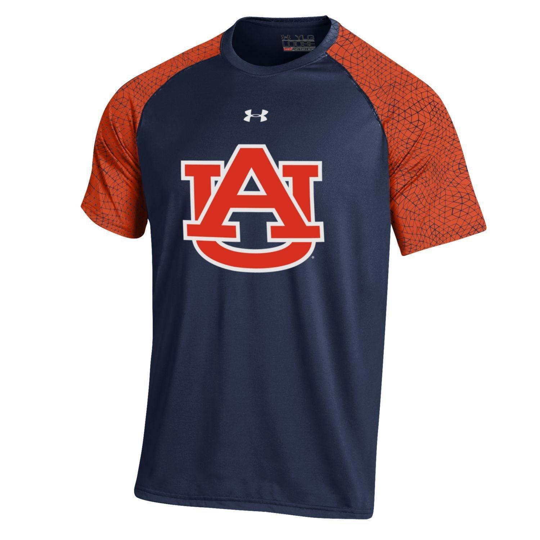 Under Armour™ Boys' Auburn University Apex Tech T-shirt