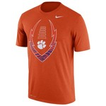 Nike™ Men's Clemson University Icon Legend T-shirt - view number 1