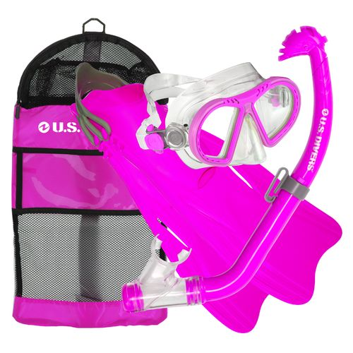 Display product reviews for U.S. Divers Kids' Toucan Snorkel and Fins Set