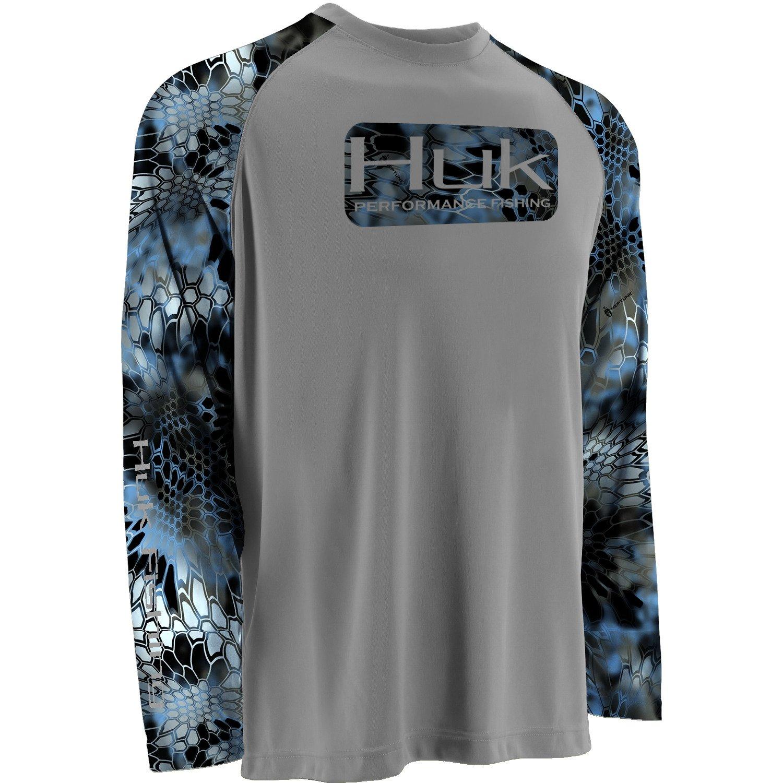 Huk Men's Kryptek Long Sleeve Raglan T-shirt