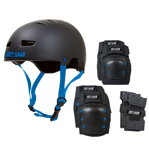 Tony Hawk Kids' Helmet and Pad Combination Pack