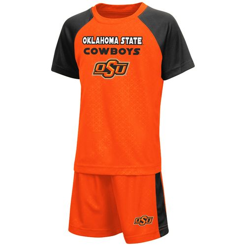 Colosseum Athletics Toddler Boys' Oklahoma State University Gridlock Set