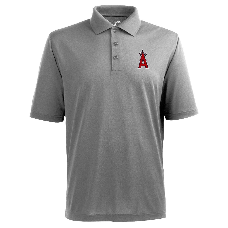 Antigua Men's Los Angeles Angels of Anaheim Piqué Xtra-Lite Polo Shirt