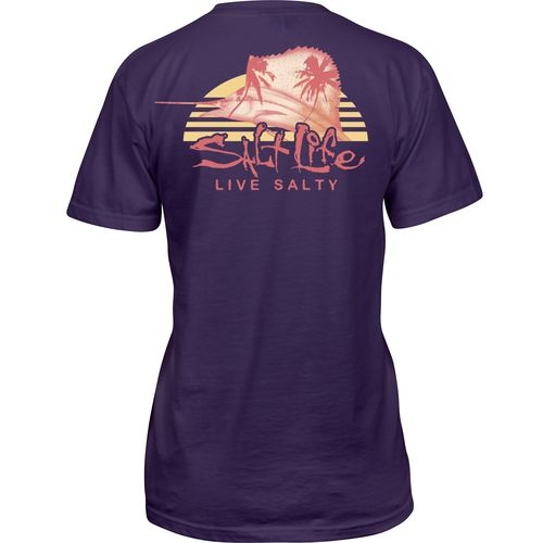 Salt Life Juniors' Sailfish Paradise Short Sleeve T-shirt