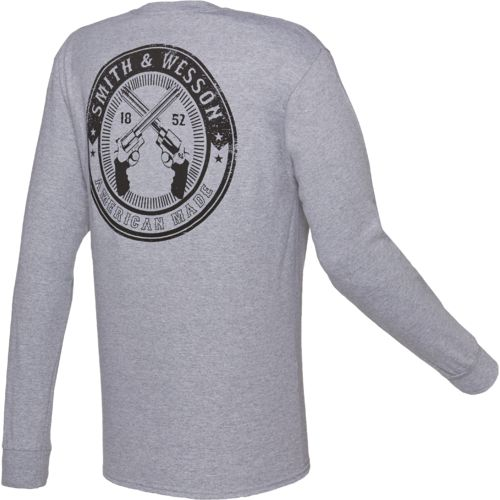 Smith & Wesson Men's Circle Design Long Sleeve T-shirt