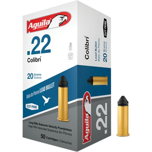 Display product reviews for Aguila Ammunition Colibri .22 20-Grain Rimfire Ammunition