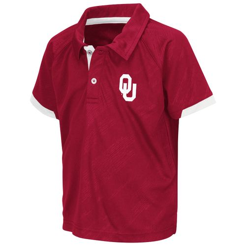 Colosseum Athletics™ Toddlers' University of Oklahoma Spiral Polo Shirt