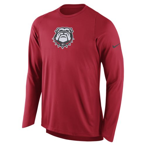 Nike Men's University of Georgia Long Sleeve Shooter