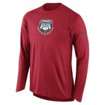 Nike Men's University of Georgia Long Sleeve Shooter T-shirt