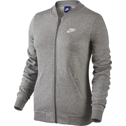nike sweater womens silver