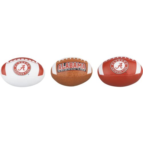 Rawlings™ University of Alabama Third Down Softee Football 3-Pack