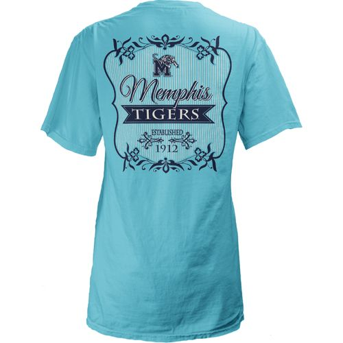 Three Squared Juniors' University of Memphis Flora T-shirt