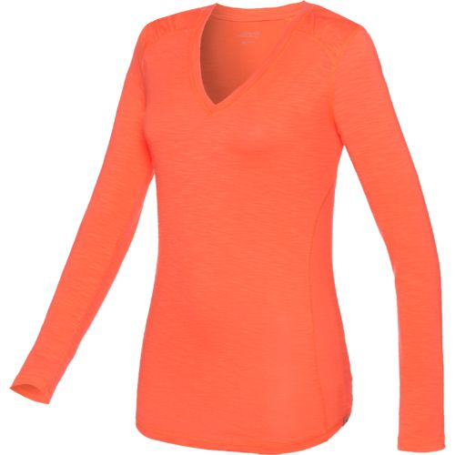 BCG™ Women's Explorer Long Sleeve V-neck Slub Top