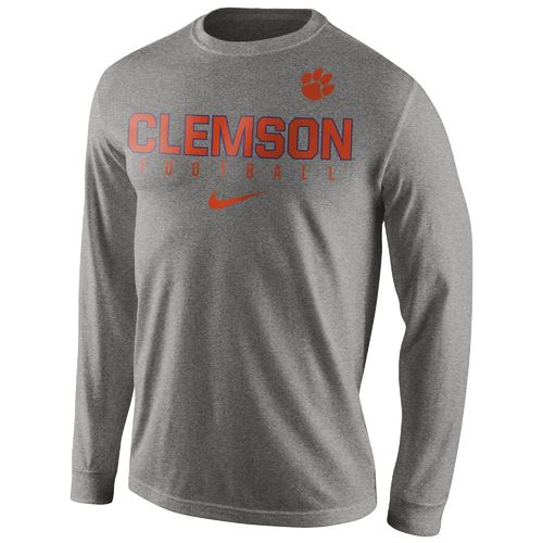 Nike™ Men's Clemson University Practice Long Sleeve T-shirt