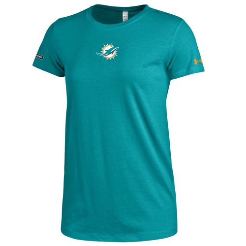 Under Armour™ NFL Combine Authentic Women's Miami Dolphins Primary Logo T-shirt - view number 1