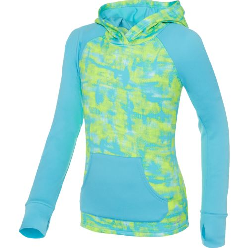 BCG™ Girls' Printed Long Sleeve Blocked Hoodie