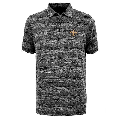 Antigua Men's New Orleans Saints Formation Polo Shirt - view number 1