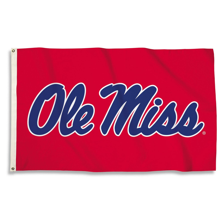 BSI University of Mississippi 3'H x 5'W Flag