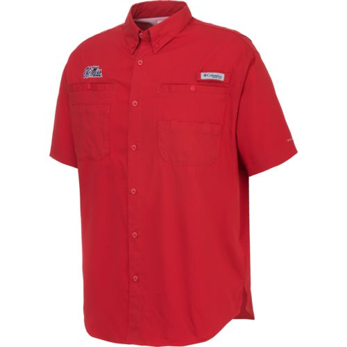 Columbia Sportswear Men's University of Mississippi Tamiami™ Button Down Shirt