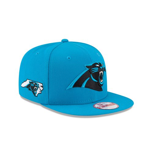 New Era Men's Carolina Panthers 9FIFTY® State Clip Snap Cap - view number 3