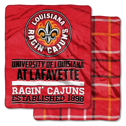 The Northwest Company University of Louisiana at Lafayette I-Cloud Throw