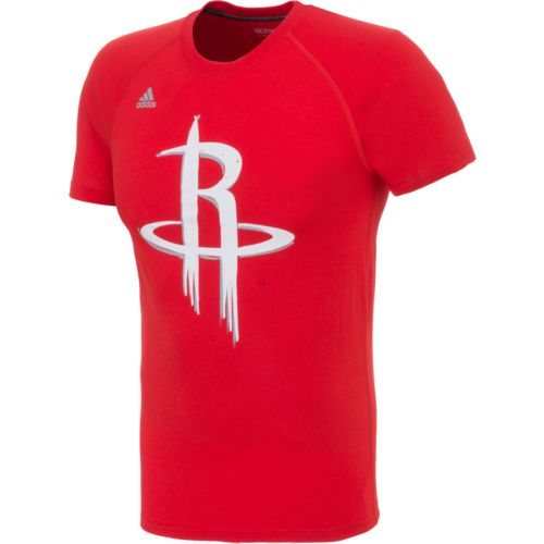 adidas™ Men's Houston Rockets climalite® Tip Off Quick Draw Ultimate T-shirt
