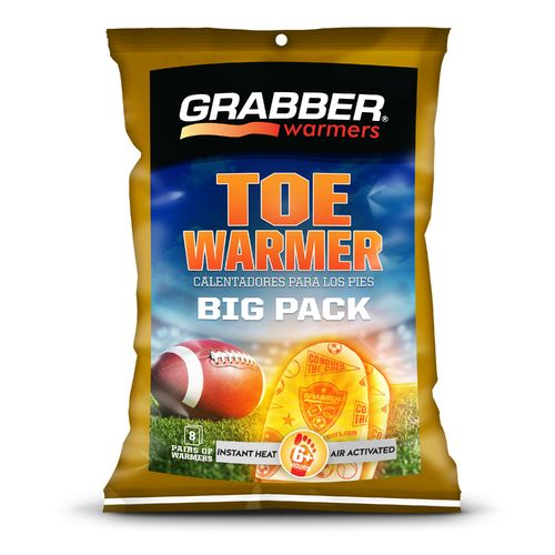Grabber Game-Day Toe Warmers 8-Pack