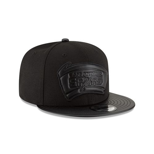 New Era Men's San Antonio Spurs Tonal Trick Snapback Cap - view number 3