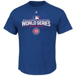Majestic Men's Chicago Cubs 2016 World Series Participant T-shirt