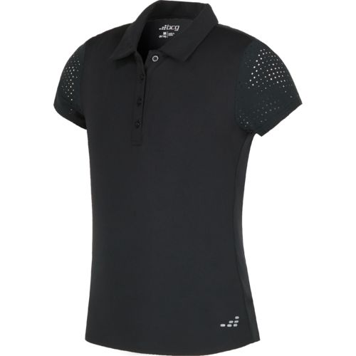 Display product reviews for BCG Girls' Laser Cut Training Polo Shirt