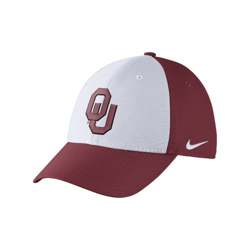Nike Men's University of Oklahoma Dri-FIT Wool Swoosh Flex Cap - view number 1