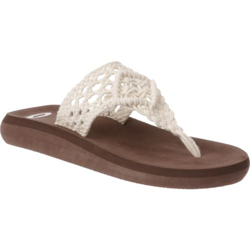 O'Rageous Women's Crochet Thong Sandals - view number 2