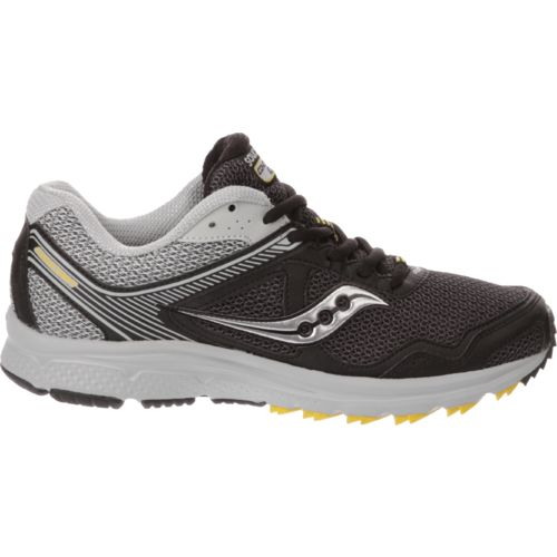 saucony black mens running shoes