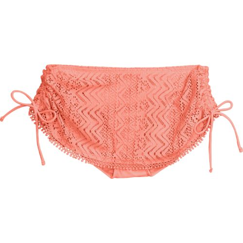 O'Rageous® Juniors' Crochet Skirtini Swim Bottom