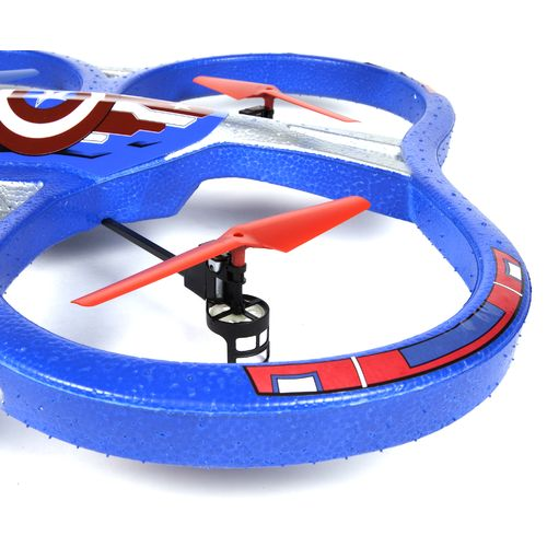 World Tech Toys Marvel Captain America 2.4 GHz 4.5 Channel Super Drone - view number 3