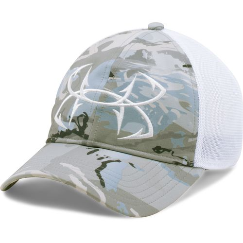 Under Armour Adults' Camo Fish Hook Cap