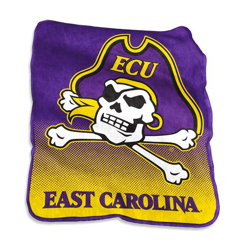 Logo™ East Carolina University 50' x 60' Raschel Throw