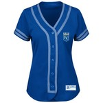 Majestic Women's Kansas City Royals Absolute Victory Jersey - view number 1