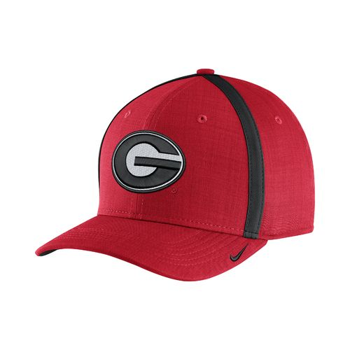 Nike Men's University of Georgia AeroBill Sideline Coaches Cap - view number 1