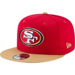 New Era Men's San Francisco 49ers 9FIFTY Baycik Snapback Cap - view number 1