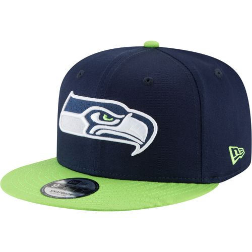 New Era Men's Seattle Seahawks 9FIFTY Baycik Snapback Cap