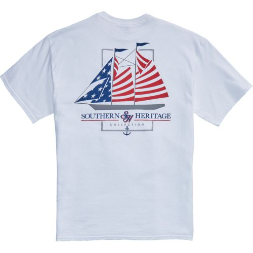 Southern Heritage Men's America Sail T-shirt - view number 4