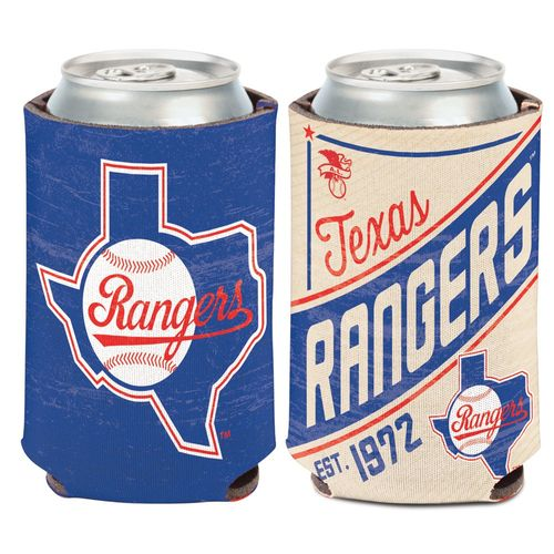 WinCraft Texas Rangers Cooperstown Can Cooler - view number 1