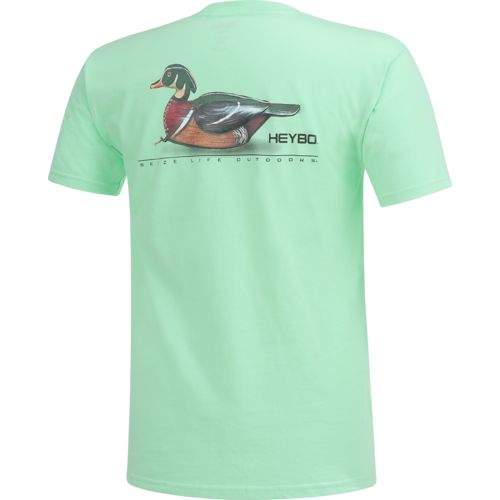 Heybo Men's Wood Duck Decoy T-shirt - view number 2