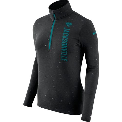 Nike™ Women's Jacksonville Jaguars Element 1/2 Zip Top - view number 1