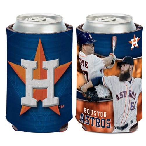 WinCraft Houston Astros Multiplayer 12 oz Can Cooler - view number 1