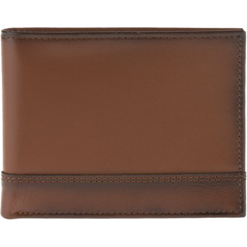 Magellan Outdoors Men's Burnished Bifold Wallet