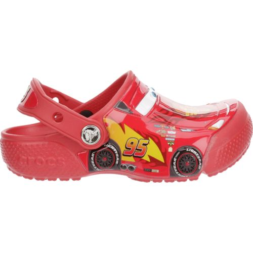Crocs Boys' FunLab Cars K-Flame Clogs