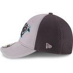 New Era Men's Carolina Panthers Grayed Out Neo 2T 39THIRTY Cap - view number 4