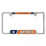 WinCraft Houston Astros Metal License Plate Frame - view number 1